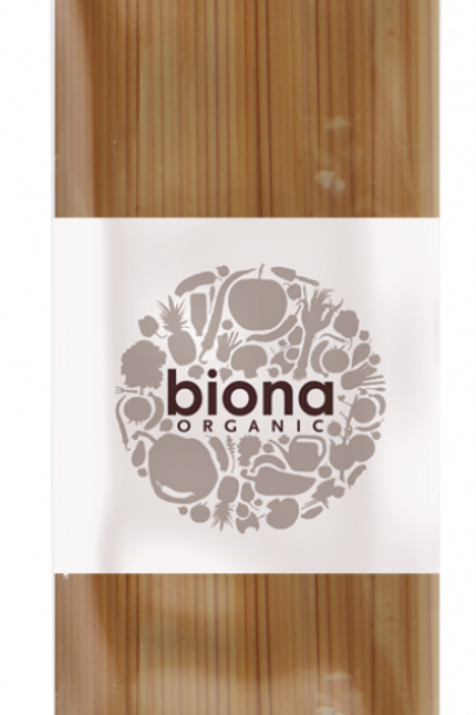 Biona Wholemeal Spelt Spaghetti