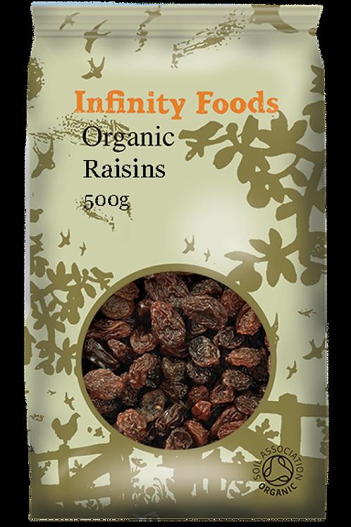 Infinity Organic Raisins 500g
