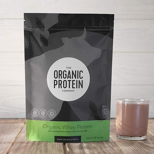 The Organic Protein Company Whey Protein - Raw Cacao & Maca