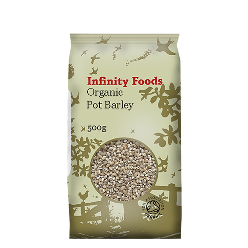 Infinity Organic Pot Barley 500g