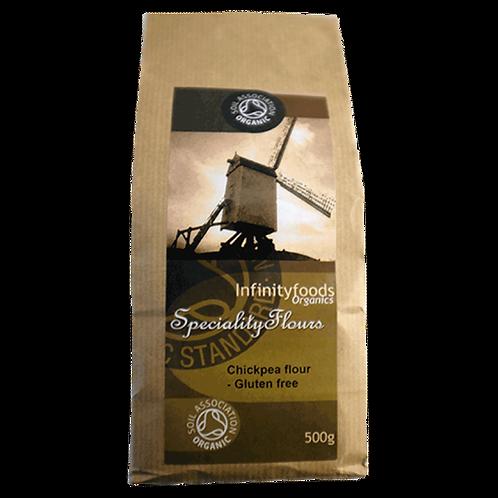Infinity Organic Chickpea (Gram) Flour 500g