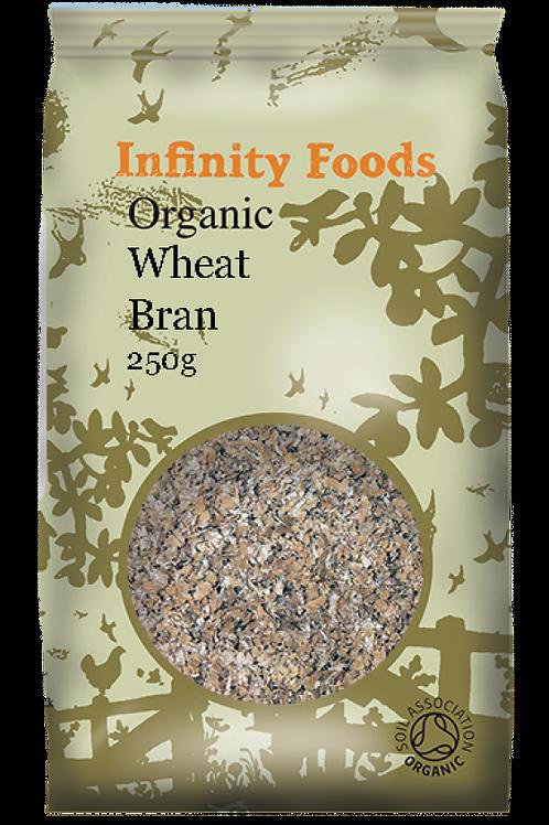 Infinity Organic Wheat Bran 250g