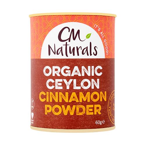 CM Naturals Organic Ceylon Cinnamon 60g
