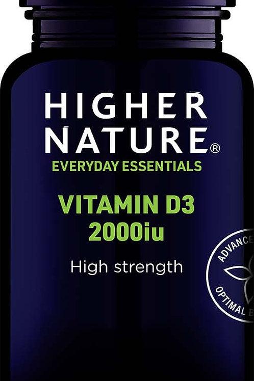 Higher Nature Vitamin D 2000iu