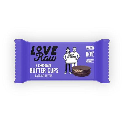 Love Raw Hazelnut Butter Cups