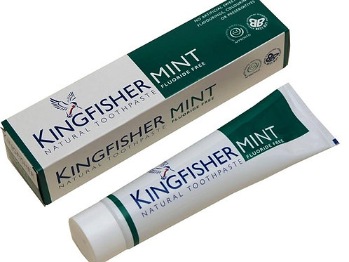 Kingfisher Fluoride Free Mint Toothpaste