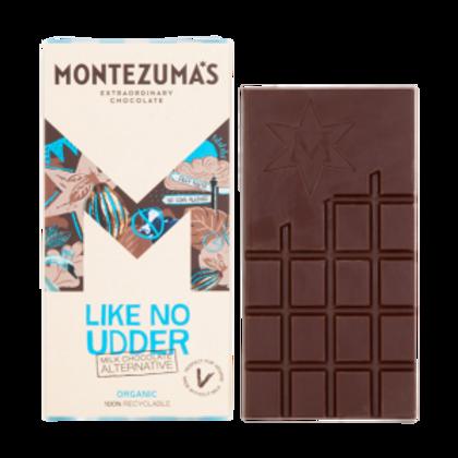 Montezuma's Like No Udder Organic Milk Chocolate Alternative 90g