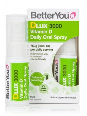 BetterYou DLux 3000 Vitamin D Oral Spray