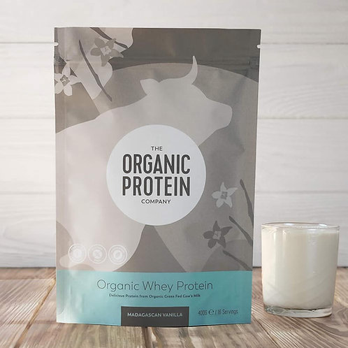 The Organic Protein Company Whey Protein - Madagascan Vanilla