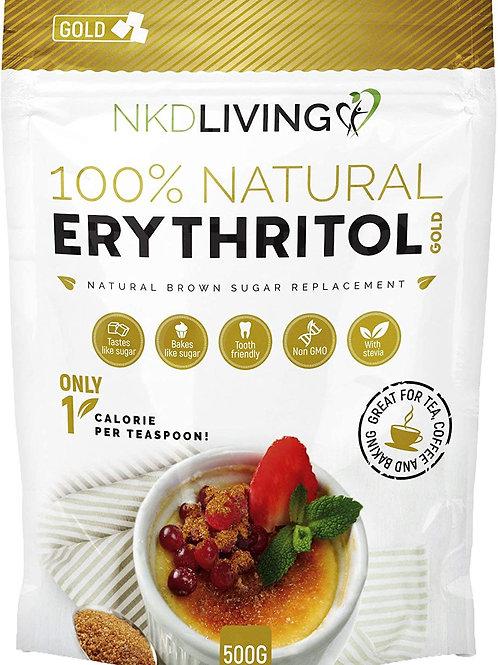 NKD Living 100% Natural Golden Erythritol 500g
