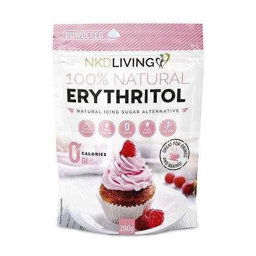 NKD Living 100% Natural Powdered Erythritol 200g