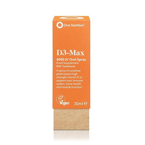 One Nutrition D3 Max Oral Spray 30ml