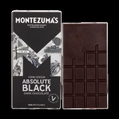 Montezuma's Absolute Black 100% Cocoa Chocolate 90g