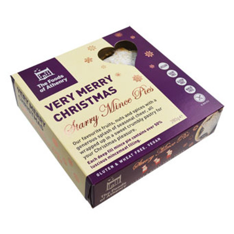 Foods of Athenry Mince Pies (Gluten & Wheat Free, Vegan)