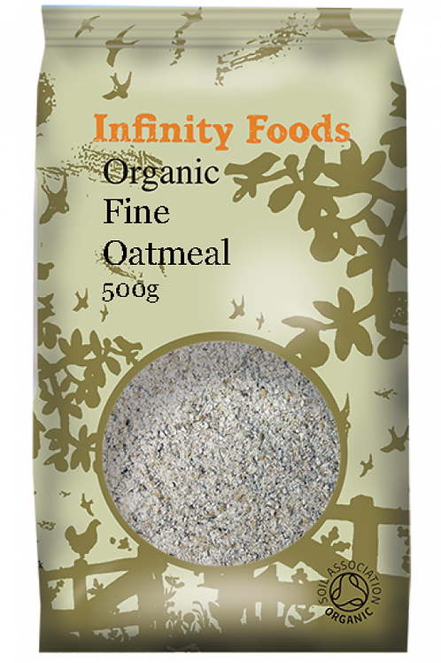 Infinity Organic Fine Oatmeal 500g