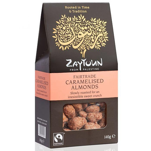 Zaytoun Fairtrade Caramelised Almonds