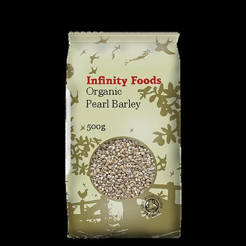 Infinity Organic Pearl Barley 500g