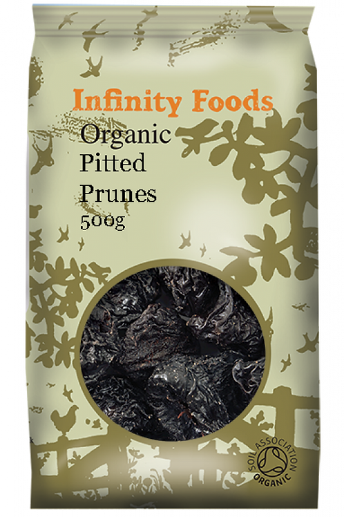 Infinity Organic Dried Prunes 500g