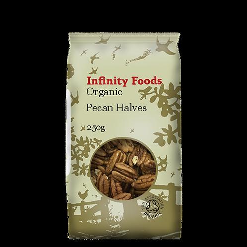 Infinity Organic Pecan Halves 250g