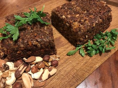 Tegan's Chestnut & Mushroom Nut Roast