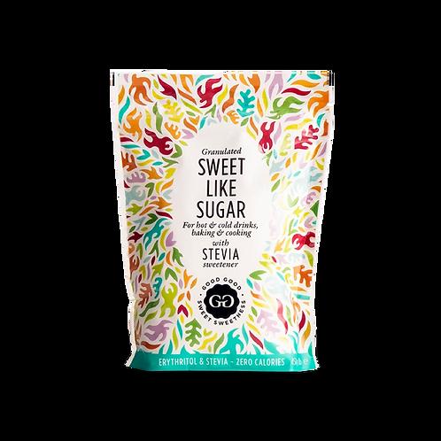 Good Good Granulated Sweet Like Sugar with Stevia 450g