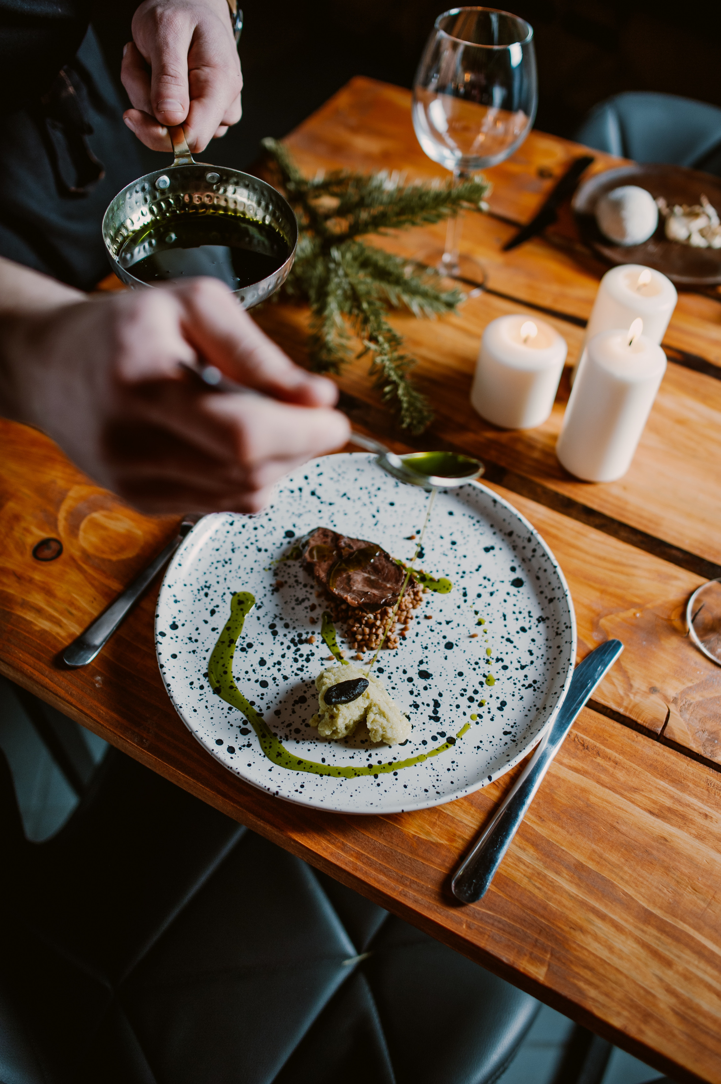 Restauracja Nowoczesna Kuchnia Polska Smak I Natura Molekularna Lunch