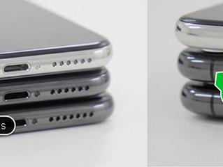 Как внешне отличить iPhone X от iPhone Xs