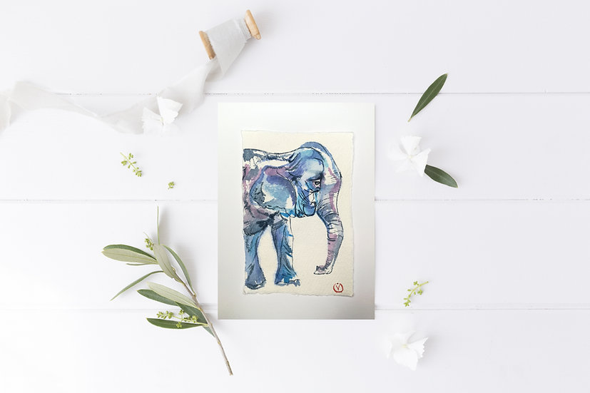Colorful day of Elephant