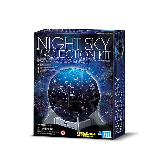 מנורת לילה מקרן כוכבים