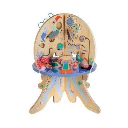 שולחן פעילות תמנון - מתחת לים