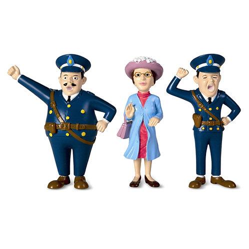 סט דמויות שוטרים - בילבי