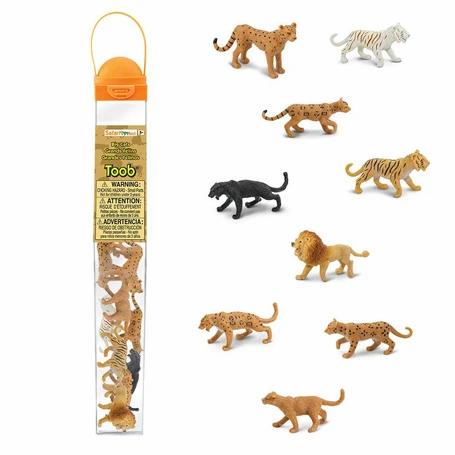 חתולים גדולים -אריות ונמרים