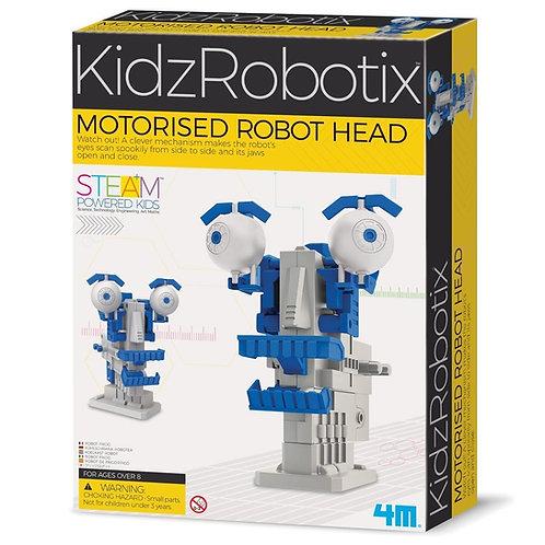 ראש רובוטי ממונע