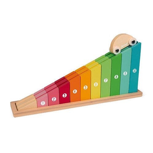 נלמד לספור - מדרון צבעוני
