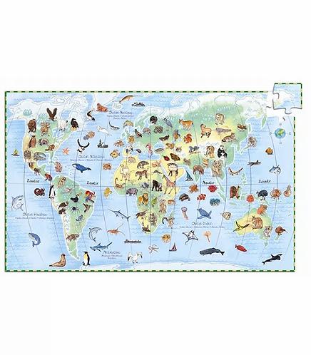 פאזל 100 חלקים העולם