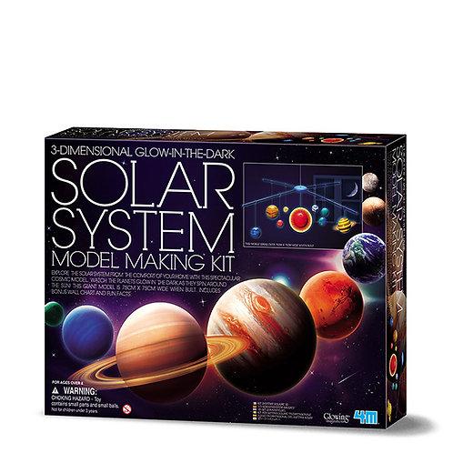 מובייל תלת מיימד מערכת השמש