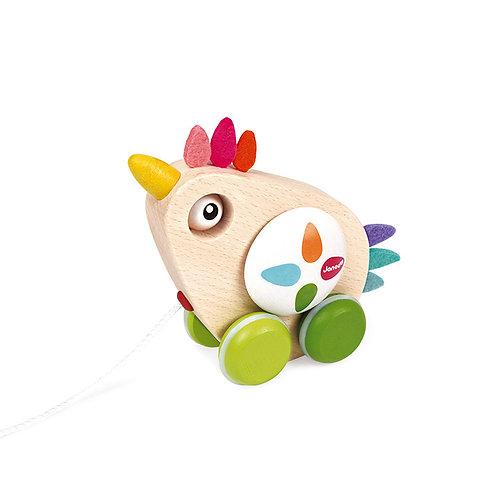 תרנגולת למשיכה בחוט