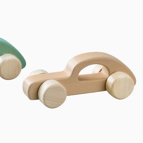 מכונית עץ ראשונה