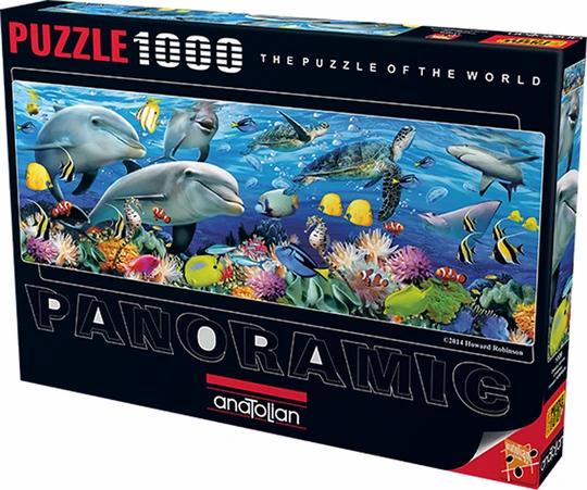 פאזל 1000 חלקים מתחת לים