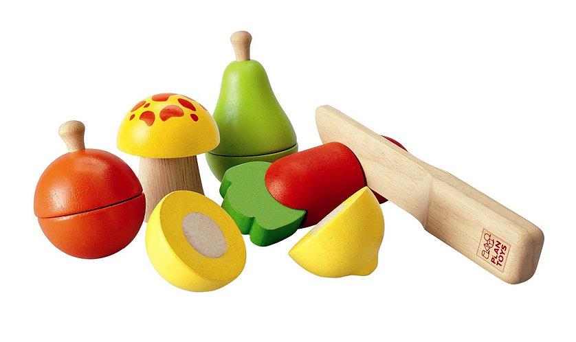 פירות וירקות מעץ