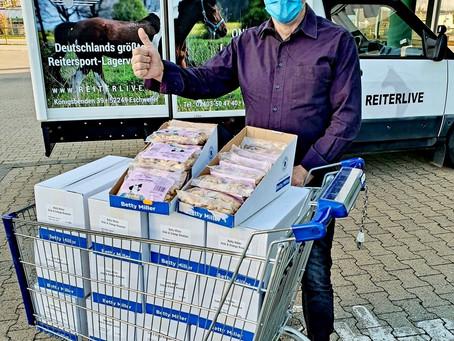 Reiterlive hilft - Teil II: Tierhilfe Belgien