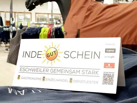 Der Inde-Gutschein: Gut für Eschweiler... 😊 🙋🏻♂️