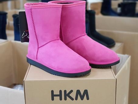 Pink Passion für warme Füße...