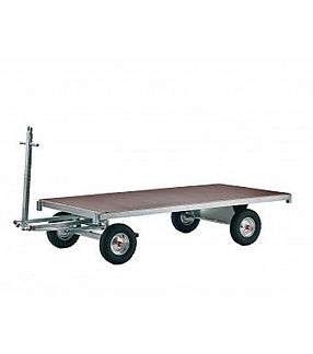 Handpritschenwagen mit Plattform