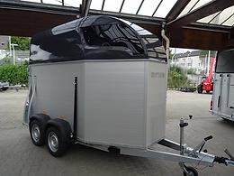 Pferdeanhänger Sirius S75 Voll ALU Tür/Rampe 2500kg 100kmh