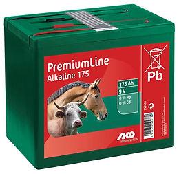AKO 9 Volt 175 AH Alkaline Trockenbatterie
