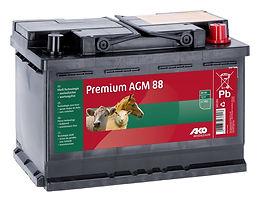 AKO Premium AGM 88AH 12V