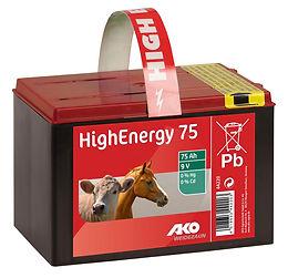 AKO HighEnergy 9V, 75AH Trockenbatterie