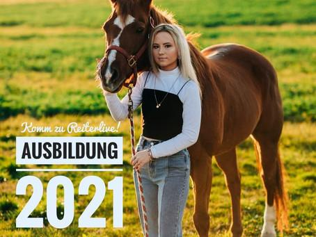 Ausbildung 2021: Komm zu Reiterlive... ✅🥰
