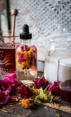 calendula rose water